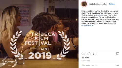 """I Think She Likes You"" heads to Tribeca Film Festival"