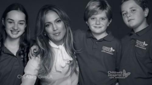 NB Video Childrens Hospital Los Angeles Jennifer Lopez
